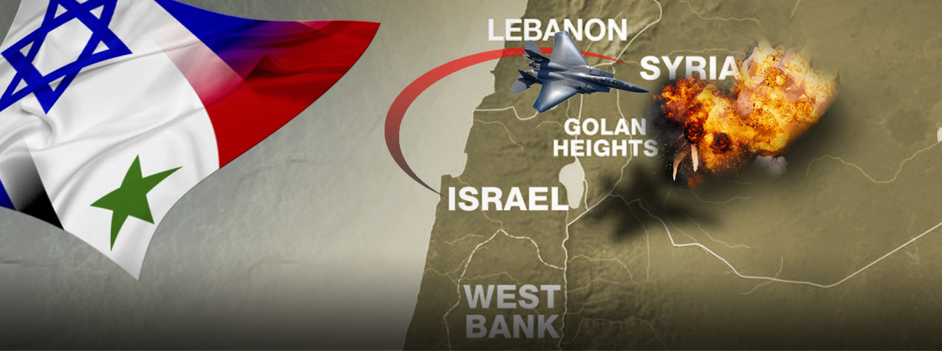 False Flag Golan Heights